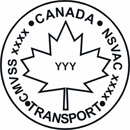 Canadian Motor Vehicle Safety Standard's National Safety Mark